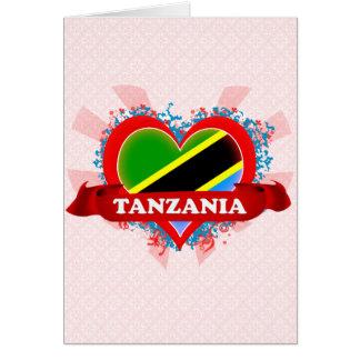 Cartes Amour Tanzanie du cru I