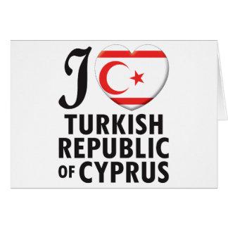 Cartes Amour turc de la république de Chypre