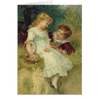 Cartes Amoureux, des poires Annual, 1905