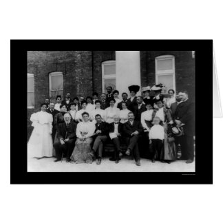 Cartes Andrew Carnegie à l'institut 1906 de Tuskegee