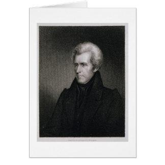 Cartes Andrew Jackson (gravure)