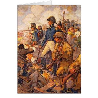 Cartes Andrew Jackson pendant la bataille de la
