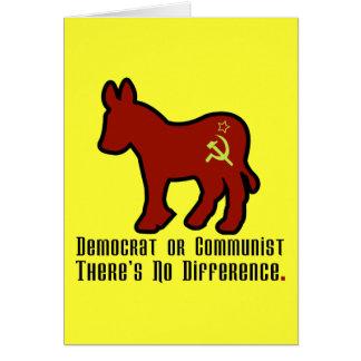 Cartes Âne communiste
