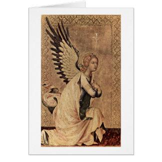 Cartes Ange d'annonce par Simone Martini