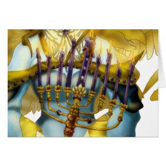 Cartes Ange de Chanukah