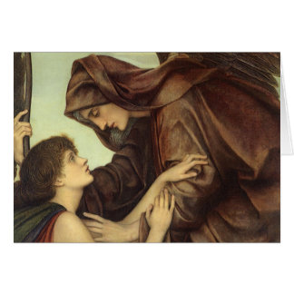 Cartes Ange de la mort par Evelyn De Morgan