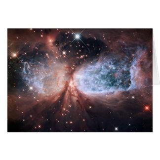 Cartes Ange de neige de Hubble