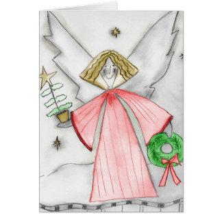 Cartes Ange de Noël de mod