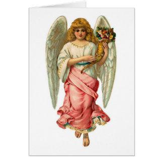 Cartes Ange de Pâques avec de belles ailes