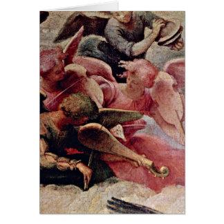 Cartes Anges de musicien (en haut à gauche) par Lorenzo