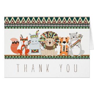 Cartes animales tribales de Merci
