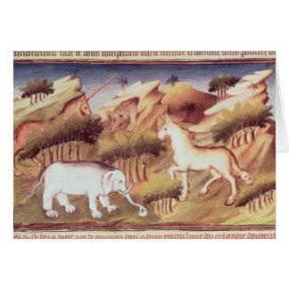 Cartes Animaux mythiques dans la région sauvage