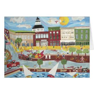 Cartes Annapolis pendant l'été (carte de voeux)