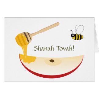 Cartes Année juive de Shanah Tovah Rosh Hashanah nouvelle