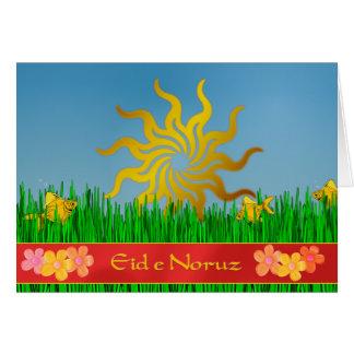 Cartes Année persane d'Eid e Noruz nouvelle