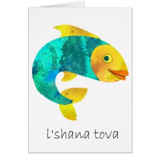 Cartes Années juives heureuses de Shana Tova- nouvelles,