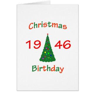 Cartes Anniversaire 1946 de Noël