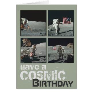 Cartes Anniversaire cosmique