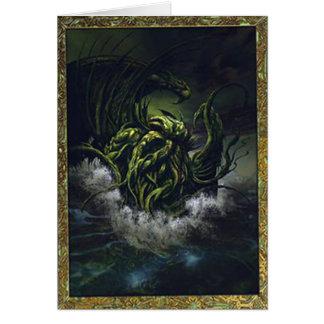 Cartes Anniversaire de Cthulhu