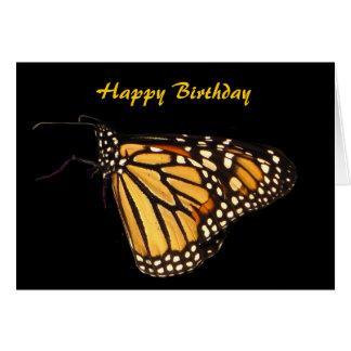 Cartes Anniversaire de papillon de monarque