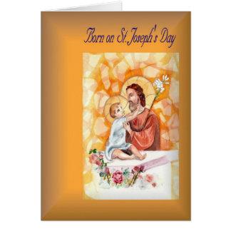 Cartes Anniversaire de vacances soutenu le jour de St