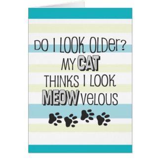 Cartes Anniversaire drôle - slogan de CAT