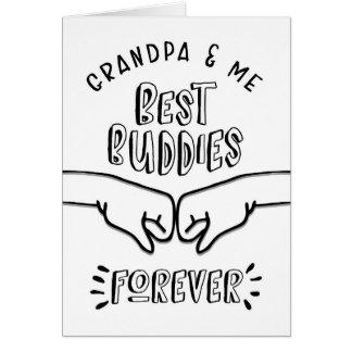 Cartes Anniversaire - grand-papa et moi, les meilleurs