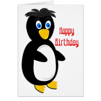 Cartes Anniversaire Popeyed de pingouin