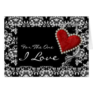 """Cartes Anniversaire romantique de valentine """"pour un d'I"""