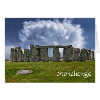 Cartes Anniversaire vieillissant drôle de Stonehenge
