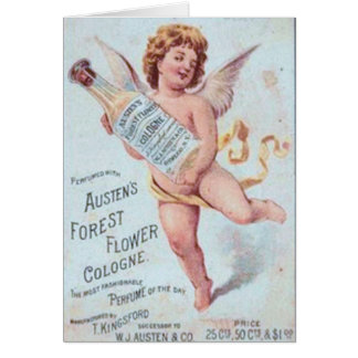 Cartes Annonce blonde de Cologne d'ange
