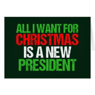 Cartes Anti atout drôle tous que je veux pour Noël