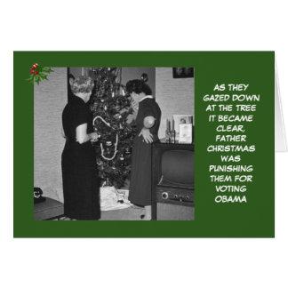 Cartes Anti Noël d'Obama