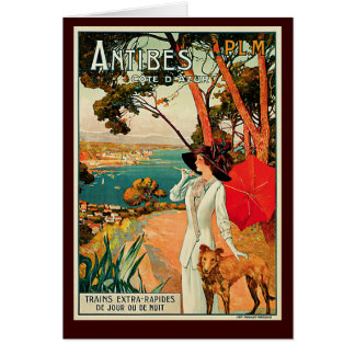 Cartes Antibes Cote d'Azur