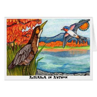 Cartes Aotearoa en automne