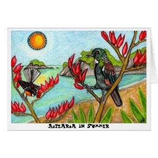 Cartes Aotearoa en été