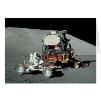 Cartes Apollo 17 - L'alunissage équipé par finale