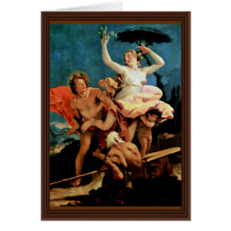 Cartes Apollo et Daphne par Tiepolo Giovanni Battista