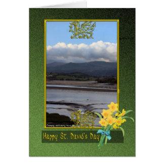 Cartes Appartements de boue de rivière de Conwy jour de