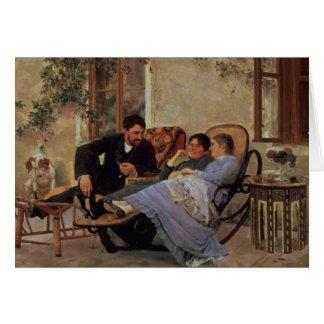 Cartes Après dîner, 1888