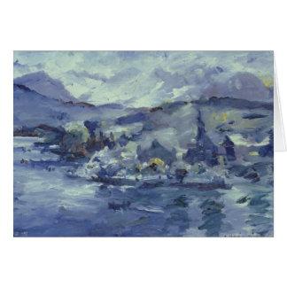 Cartes Après-midi sur le lac Lucerne, 1924