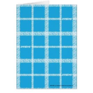 Cartes Aqua de plaid