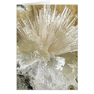 Cartes Aragonite et quartz