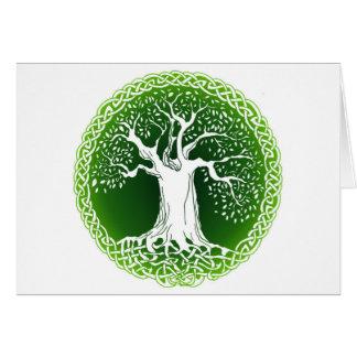 Cartes Arbre celtique de sagesse