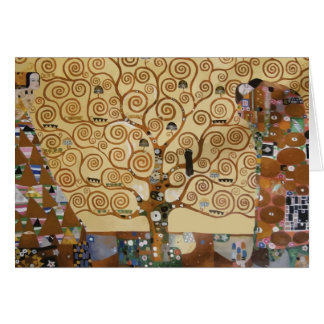 Cartes Arbre de Gustav Klimt de la vie