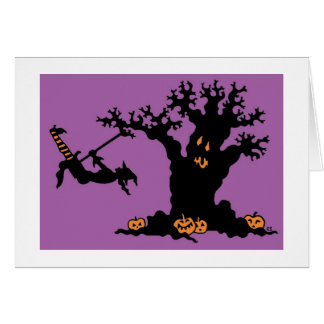 Cartes Arbre de Halloween