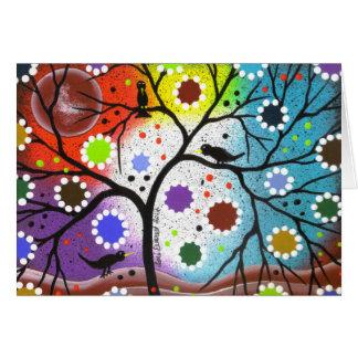 Cartes arbre de la vie #22 par Lori Everett