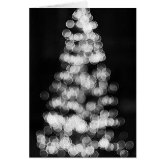 Cartes Arbre de Noël de Bokeh