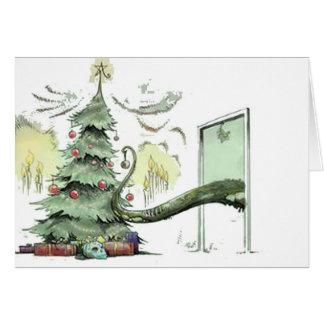 Cartes Arbre de Noël de Cthulhu