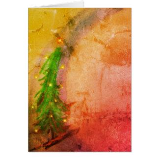 Cartes Arbre de Noël magique Joyeux Noel